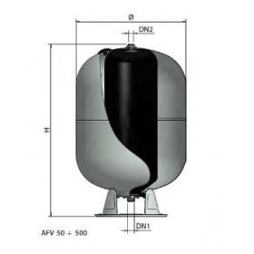 AUTOCLAVI ZINCATE A MEMBRANA INTERCAMBIABILE 60 LT AFV-Z 500 CE ELBI