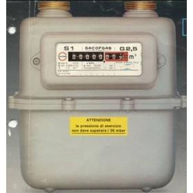 CONTATORE GAS MET./GPL G4 Q 6
