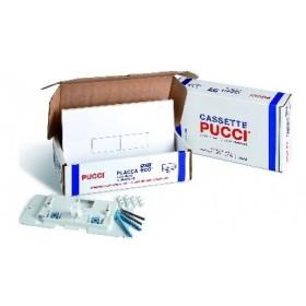 PLACCA COMANDO PUCCI ECO DOPPIO TASTO BIANCA PUCC5710 KIT NEW DI SOSTITUZIONE 80179560